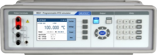 M6x1 Real-Resistance RTD Simulators